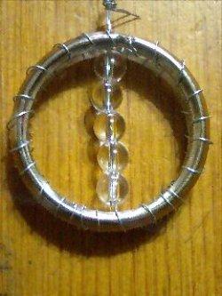 画像1: 前後軸調整用の円形コイル